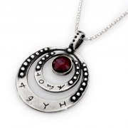 Love - Sterling Silver Kabbalah Pendant