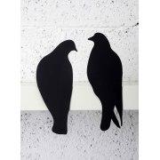 Lovebirds - Metal Sculpture, Home Accessories