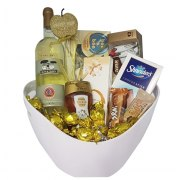 Golden Chocolate Gift Basket Strict Kosher