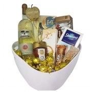 Golden Chocolate Gift Basket Strict Kosher