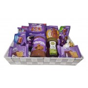 Purple Holiday Gift Basket