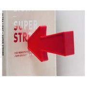 Magnetic Arrow Book Ends by Peleg Designs