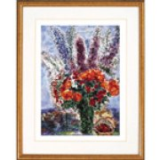 Marc Chagall - Vase with Flowers