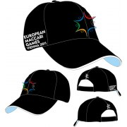 Mens Logo Baseball Cap for 2011 European Maccabi