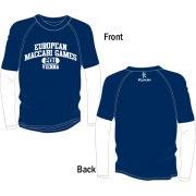 Mens Long Sleeve T-Shirt for 2011 European Maccabi