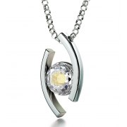 Psalm 23 Sterling Silver Zirconia Nano Jewelry