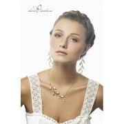 Olive Branch Gold & Pearl Earrings - Adina Plastelina