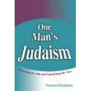 One Man's Judaism
