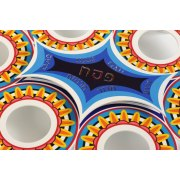Passover Celebration Seder Plate, Metal Laser Cut