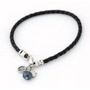Pearl Yin- Yang Hamsa Bracelet