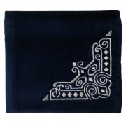 Personalized Royal Navy Blue Velvet Tallit Bag