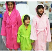 Hooded Bathrobes for Toddlers and Children