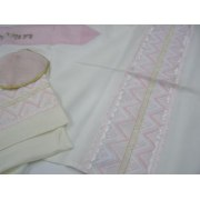 Pink and Cream, Prayer Shawls for Women