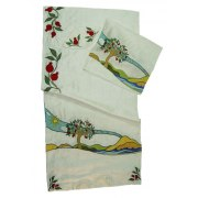 Biblical Embroidery Tallit - Tree of Life