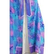 Galilee Silks Purple Floral Tallit Prayer Shawl