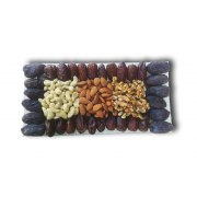 Rectangular Dries Fruits and Nuts Assortment