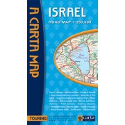 Road Map of Israel
