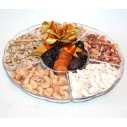 Selection in a Circle - Fruit and Nut Gift Basket
