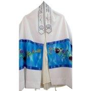 Seven Species Tallit Prayer Shawl by Galilee Silks