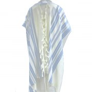Shades of light blue Mishkan Hatchelet Tallit Prayer Shawl