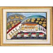 Shalom of Safed (Shulem der Zeigermacher) - Abraham settles in Beer-Sheva - Israel Art