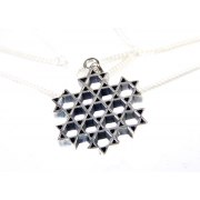 Silver Star of David Link Pendant from Emunah