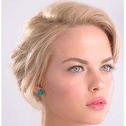 Smadar Edri Light Purple Enamel Earrings, Fashion Jewelry