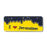 Souvenirs from Israel, I Love Jerusalem Fridge Magnet