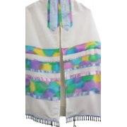 Galilee Silks Spring Colors Tallit Prayer Shawl