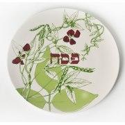 Barbara Shaw Seder Plate Botanical