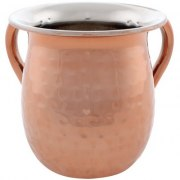 Stainless Steel Copper Design Washing Cup