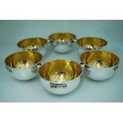 Sterling Silver Bowls Seder Plate