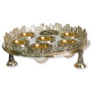 Sterling Silver Exodus Seder Plate