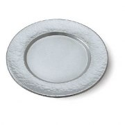 Hammered Rim Plate