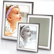 Sterling Silver Picture Frame - Set of 3 Style #813