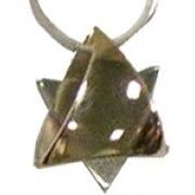 Talia  Gold & Silver Star of David - Big size