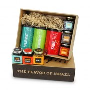 Taste of Israel Gift Box Flavored Tea Honey and Halva