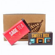 Taste of Israel Gift Box Honey Silan Date Syrup Sage Tea