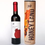 Taste of Israel Gift Box Pomegranate Wine Honey Land Box