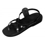 Thin Strapped Crisscross Ankle Handmade Leather Biblical Sandals - Galilee