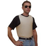 Bullet Proof Vest Concealed Lightweight with Goldflex Level IIIA