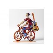 David Gerstein Troubadour Rider Israeli Art