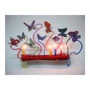 David Gerstein Butterfly Hanukkah Menorah