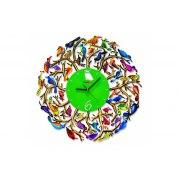 David Gerstein Nature Time Wall Clock