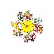 David Gerstein Disco Time Wall Clock