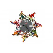 David Gerstein Riding Time Wall Clock