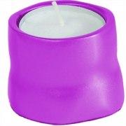 Yair Emanuel Anodized Aluminum Tea Candles Pink