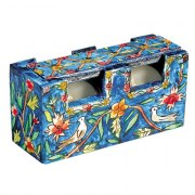 Yair Emanuel Travel Candlestick Case with Cover Oriental