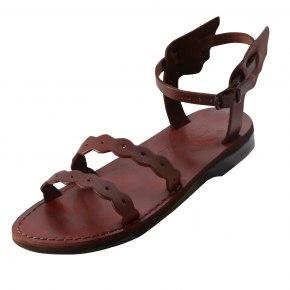 Hermes Wings Handmade Leather Sandals - Ella
