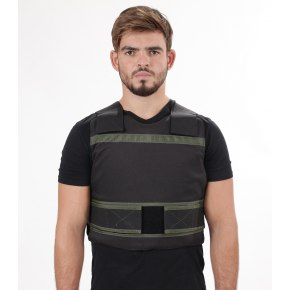 Level IV Concealed Bulletproof Vest with Polyethylene Boron Carbide Plates